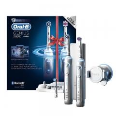 博朗/Braun 电动牙刷 Gennius8900--双人套装