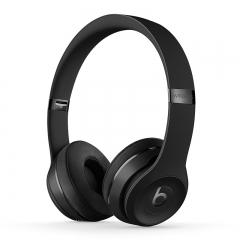 Beats耳机Solo3wireless 头戴式蓝牙耳机 黑色