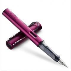 凌美LAMY钢笔签字笔水笔Al-star恒星系列 标准F尖-深紫