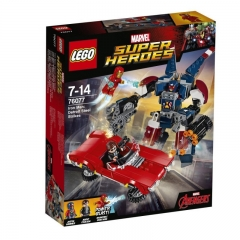 乐高/Lego 76077 漫威系列钢铁侠底特律大战
